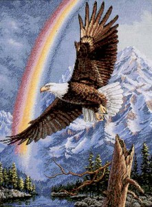 The Promise-Bald Eagle 35020 Dimensions