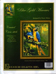 Blue Gold Macaws 99443 KustomKrafts