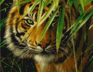 KustomKrafts 35027 Emerald Forest Tiger