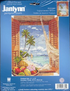 Janlynn Tropical Vacation Window