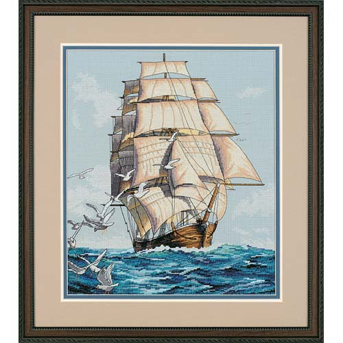 Clipper Ship Voyage 03886