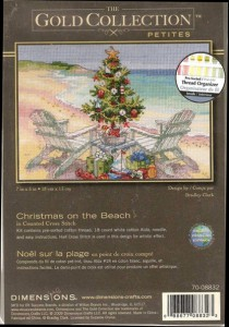 Dimensions 8832 Christmas on the Beach