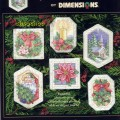 Dimensions Christmas keepsake ornaments