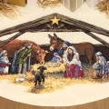 Dimensions 08814 Nativity Scene Tree Skirt