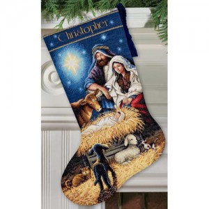 Dimensions 08838 Holy Night Stocking