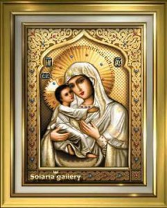 Theotokos of Tenderness дизайн Стоянка Иванова (Solaria gallery)