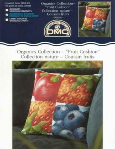 DMC k4317 Fruit Cushion