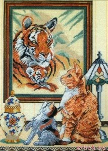 Anchor CC80896 Ginger Cats and Tigers