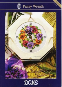 DOME 50203 Pansy Wreath