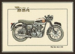 Heritage CBS232 1956 BSA Gold Star