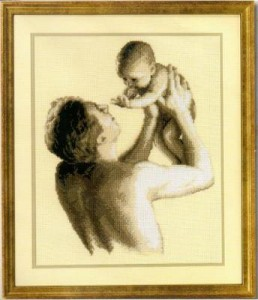 Vervaco 75.173 Father and Child
