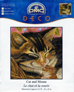DMC BK274 Cat and Mouse