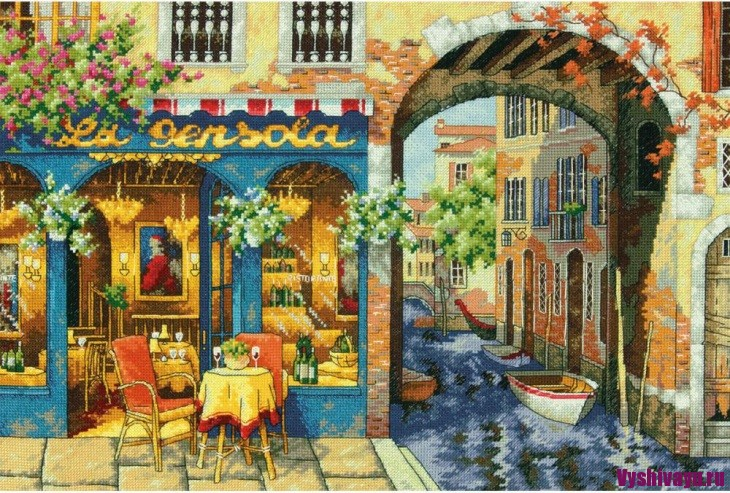 Dimensions 35306, Charming Waterway