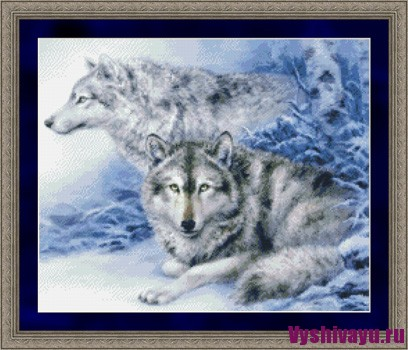 KustomKrafts 99807 Soulmates - Grey Wolves