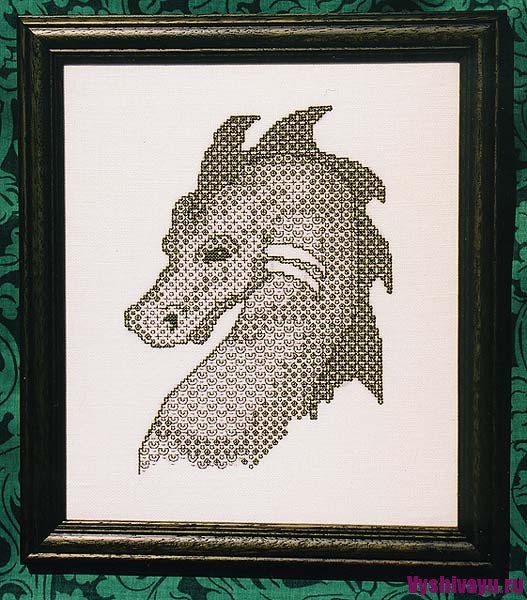 Blackwork dragon