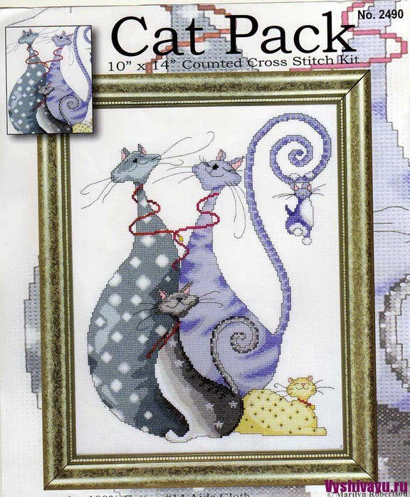 Design Works 2490 Cat Pack