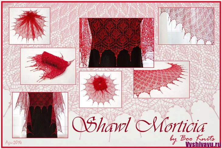 Shawl Morticia_