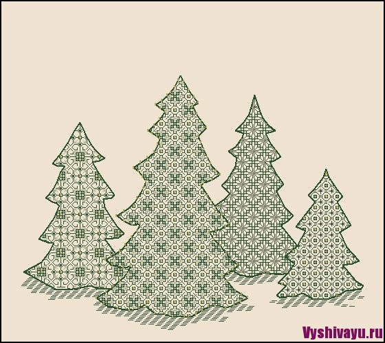 Christmas Forest Laura J. Perin Designs