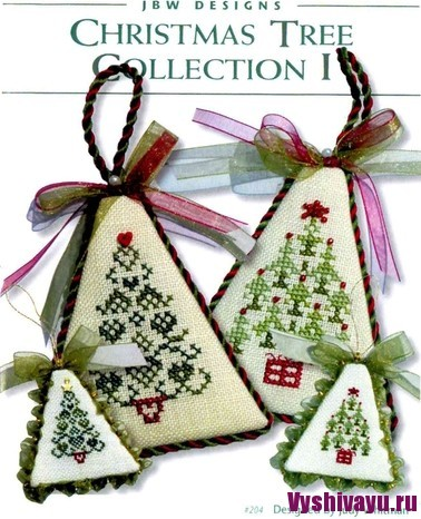 JBW Designs - Cristmas Tree Collection I