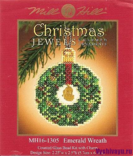 Mill Hill 16-1305 Emerald Wreath