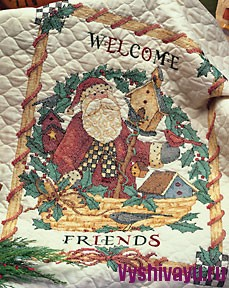 Dimensions 08659 Santaяs Welcome Quilt