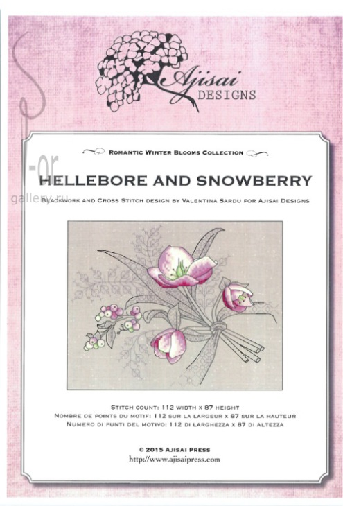 Ajisai Designs Hellebore and Snowberry