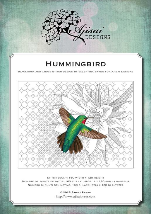 Ajisai Designs Hummingbird