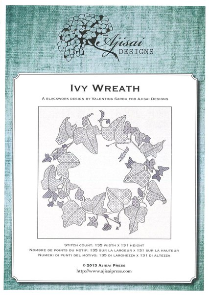 Ajisai Designs Ivy Wreath