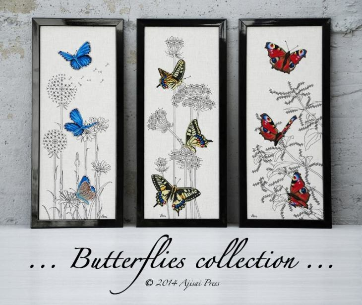 Ajisai Designs Butterflies Collection