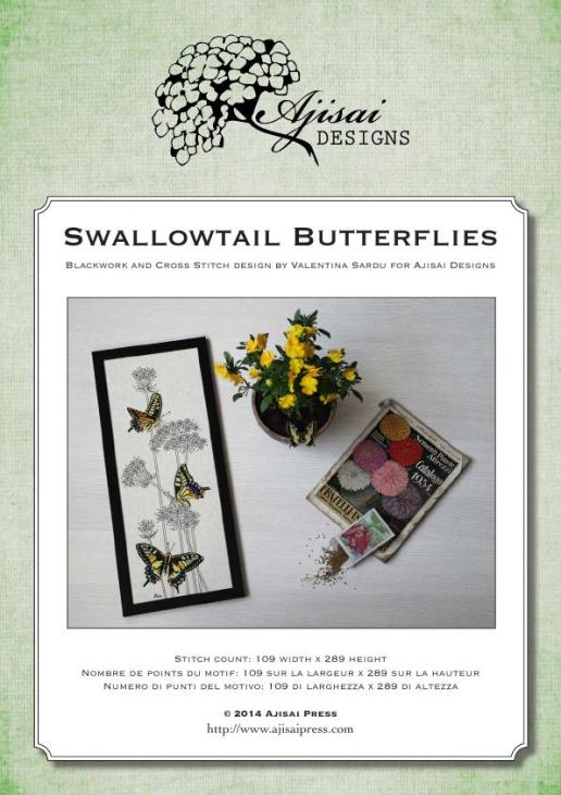 Ajisai Designs Swallowtail Butterflies