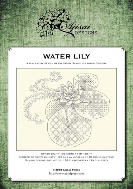 Ajisai Designs Water Lily