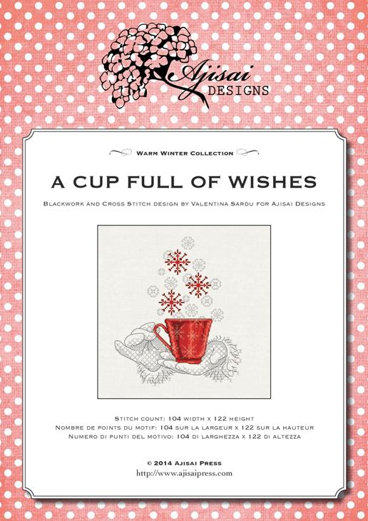 Ajisai design A cup full of wishes