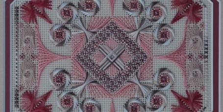 Arabesque Rose by West End Embroidery Начало