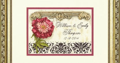 Dimensions 70-65138 Elegant Wedding Record