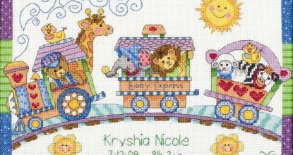 Dimensions 73428 Baby Express Birth Record