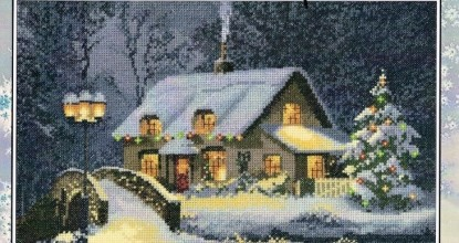 Heritage JCXC1100 Christmas Cottage